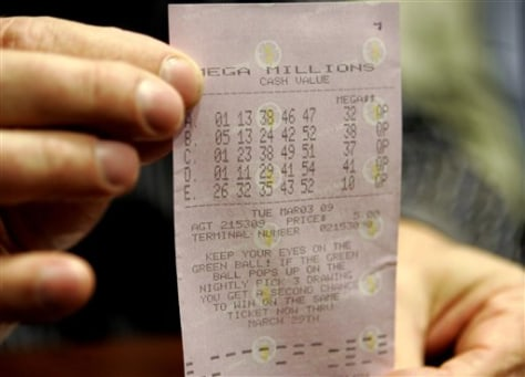 Image: Winning ticket