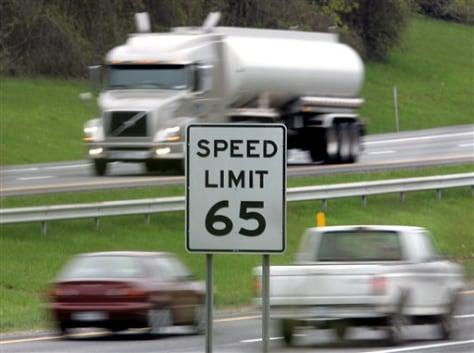 Image: Freeway traffic