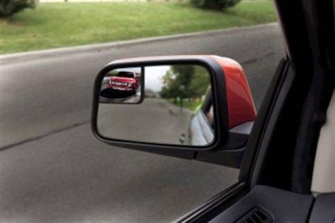 Image: Blind-spot mirror