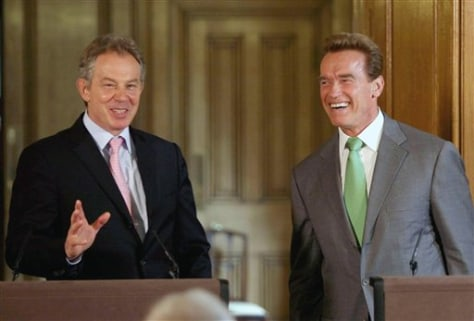 IMAGE: SCHWARZENEGGER AND BLAIR