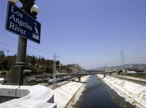IMAGE: SHALLOW LOS ANGELES RIVER