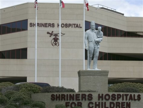 Image: Shriners Hospital in Greenville, S.C.