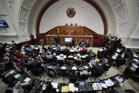 Image: Venezuela's National Assembly