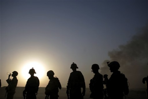 Image: U.S. troops in Iraq