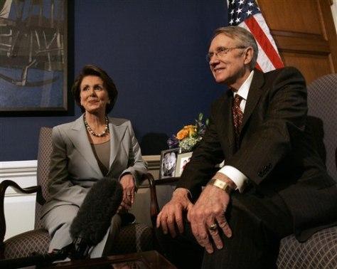 Nancy Pelosi, Harry Reid