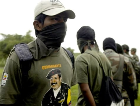 Image: FARC members surrender