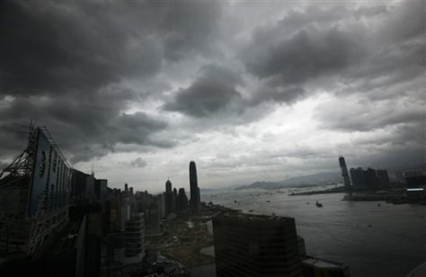 Image: Clouds over Hong Kong