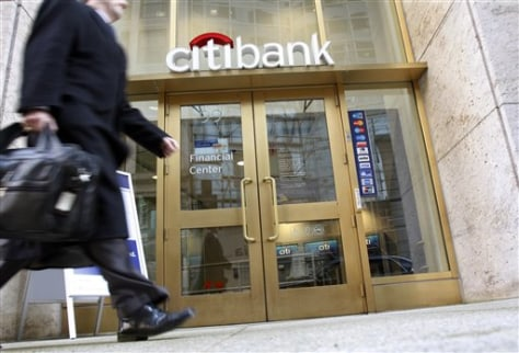 Image: Citibank branch
