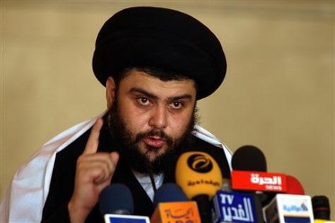 Iraq Ayatollah Al Sadr