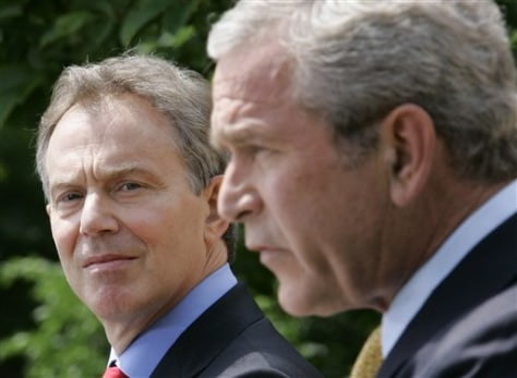 Image: Bush and Blair