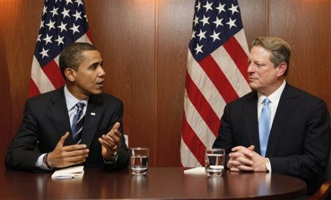 Image: Obama, Gore