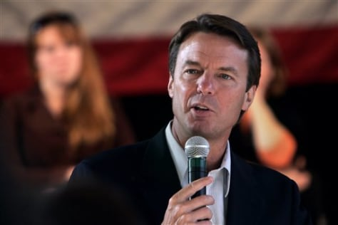 IMAGE: Presidential hopeful John Edwards