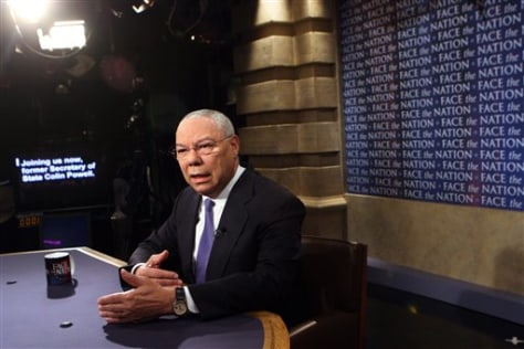Image: Former Secretary of State General Colin Powell