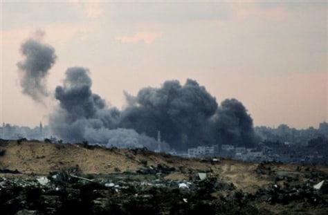 Image: Explosion in Gaza