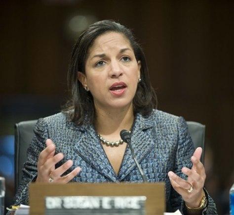Image: U.N. Ambassador-designate Susan Rice