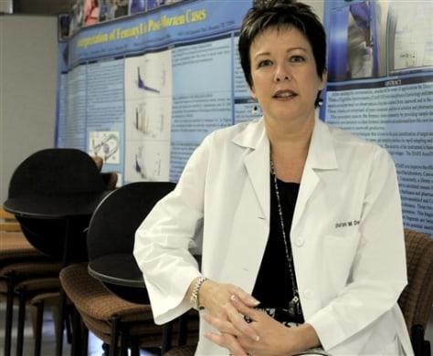 Image: Forensic pathologist Dr. Sharon Derrick
