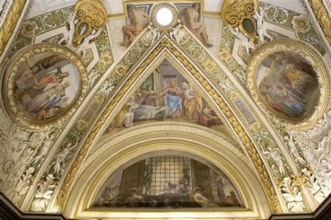 Image: Vatican's Pauline Chapel