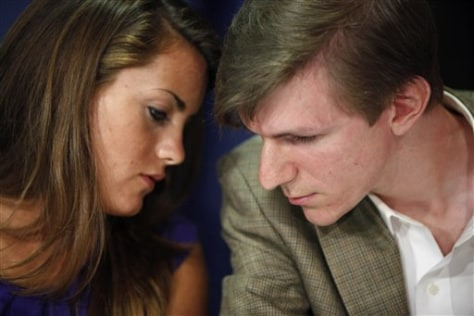 Image: Hannah Giles and James O'Keefe