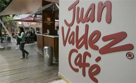 Colombia Juan Valdez Cafe
