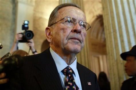 Image: Former Sen. Ted Stevens, R-Alaska