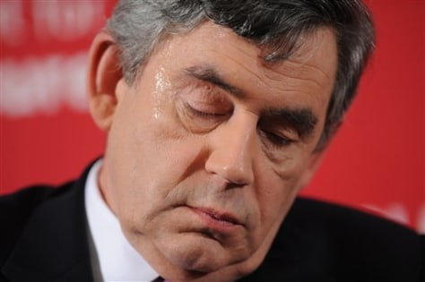 Image: British Prime Minister Gordon Brown