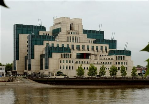 Image: Headquarters of MI6