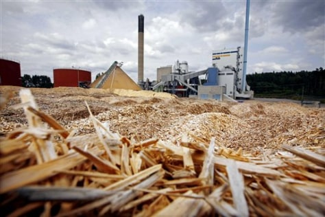 IMAGE: WOOD CHIPS USED FOR POWER, HEAT