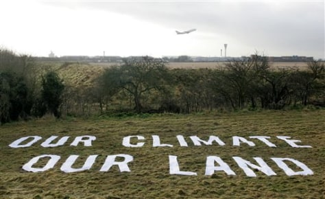 Image: Land bought by Greenpeace