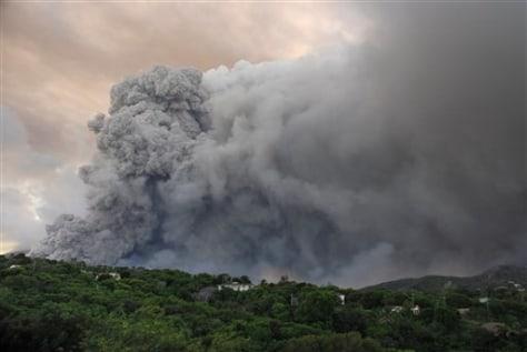 Image: Montserrat Volcano