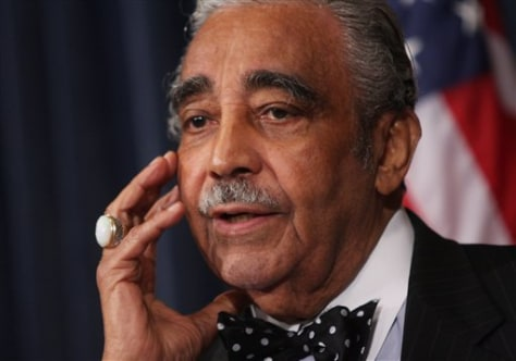 Image: House Ways and Means Chairman Rep. Charlie Rangel, D-N.Y.