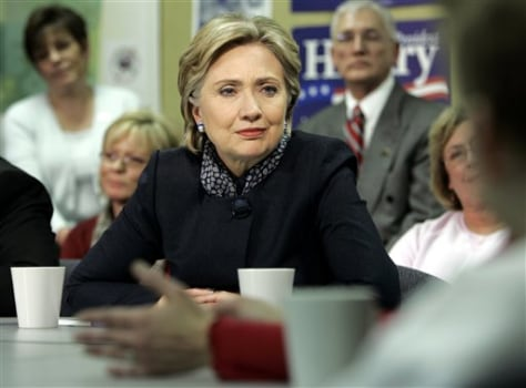 IMAGE: Sen. Hillary Clinton