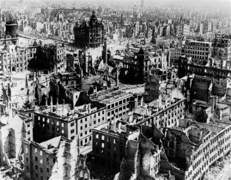 Image: Germany Dresden Bombing