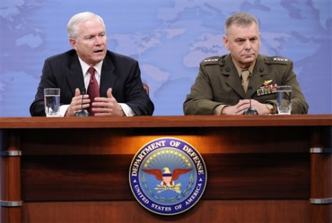 Image: Robert Gates and James Cartwright