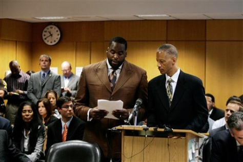 Image: Detroit mayor pleads guilty