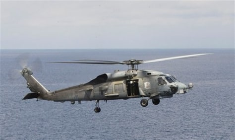 Image: Seahawk helicopter