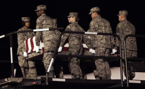 Image: Remains of Air Force Staff Sgt. Phillip Myers