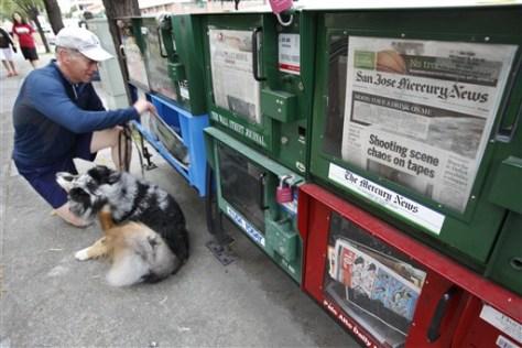 Image: Newspaper rack