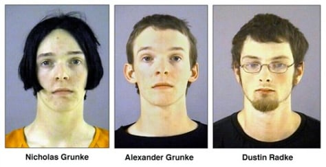 Image: Alexander and Nicholas Grunk and Dustin Radke