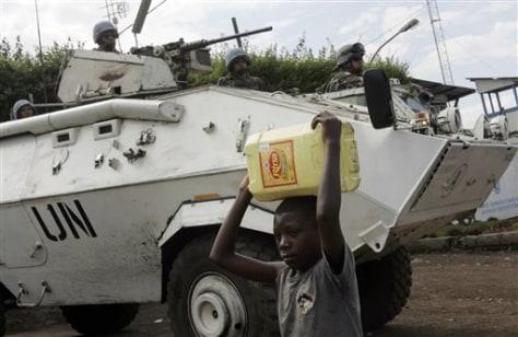 Image: Congo fighting