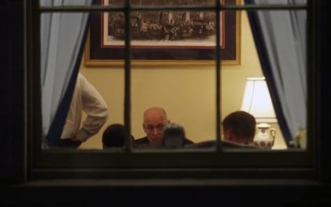 Image: Paulson meeting