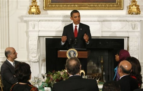 Image: Obama hosts Ramadan dinner