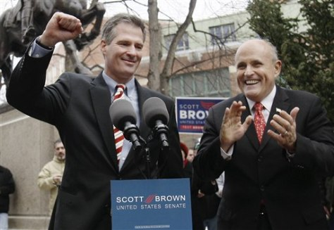 Image: Brown, Giuliani