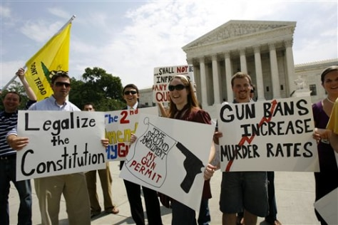 Image: Pro-gun rights rally