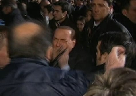 Image: Italian Premier Silvio Berlusconi