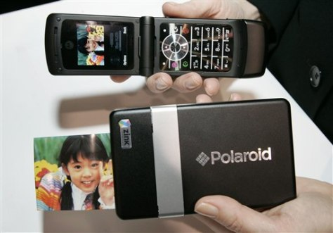Image: Polaroid's Digital Instant Mobile Photo Printer