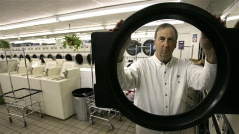 Image: Owner of coin-operated laundry