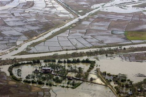 Image: Flooded area of Myanmar