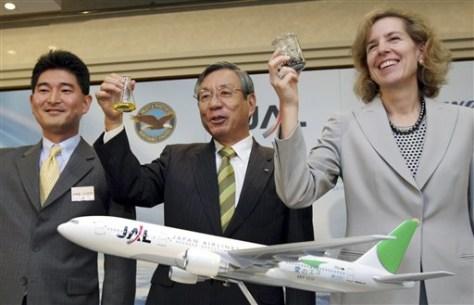 Japan Biofuel Flight