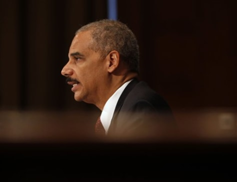 Image: Attorney General Eric Holder