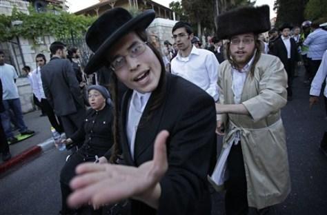 Image: Sabbath protest